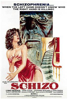 Schizo, Poster, 1976 Art Print by Everett