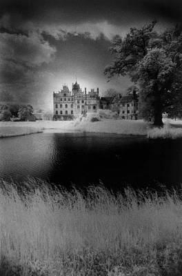 Grey Clouds Photograph - Schloss Basedow by Simon Marsden