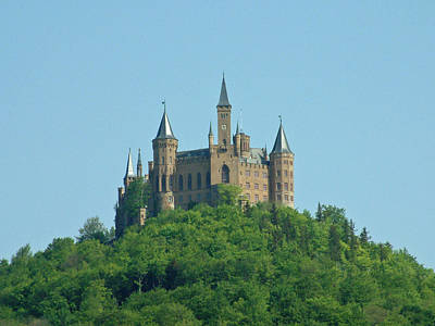 Schloss Hohenzollern Germany Art Print