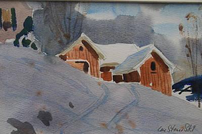 Painting - Schneider Farm Study by Len Stomski