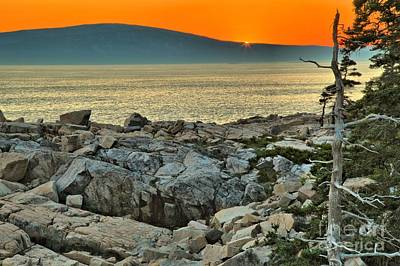 Photograph - Schoodic Sunset by Adam Jewell