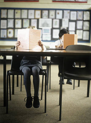 Revising Photograph - School Children by Ian Boddy