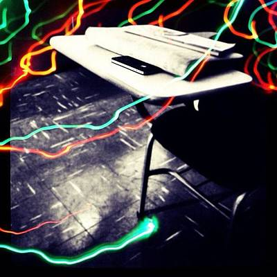 I Phone Photograph - #school #class #apple #phone #iphone by Isabella Costa
