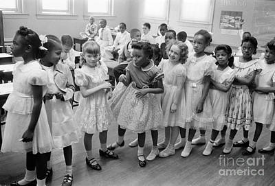Barnard Photograph - School Desegregation, 1955 by Granger