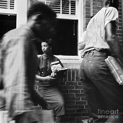 Photograph - School Desegregation, 1958 by Granger
