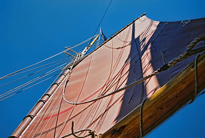 Photograph - Schooner Rigging by Gregory Scott