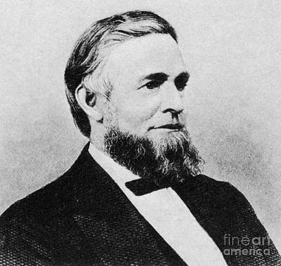 Grants Vp Photograph - Schuyler Colfax by Photo Researchers