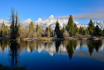 Photograph - Schwabacher Landing by Greg Norrell