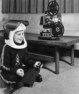 Sci-fi Film Art Print by Archive Photos