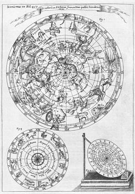 Sciathericon For Determining Time Print by Middle Temple Library