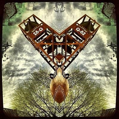 Scifi Wall Art - Photograph - #scifi #symmetry #picoftheday by Nicolas Marois