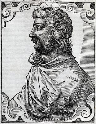 Scipio Africanus, Roman General Art Print by Middle Temple Library