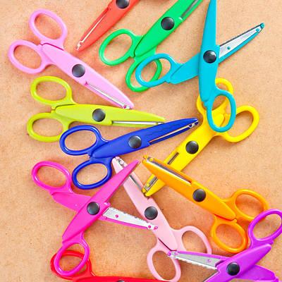 Numerous Photograph - Scissors by Tom Gowanlock