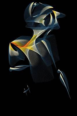 Digital Esoteric Digital Art - Scorpion Hand by Hayrettin Karaerkek