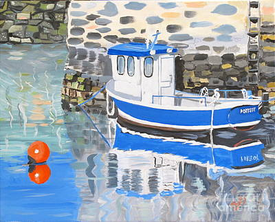 Painting - Scotland Boat by Phyllis Kaltenbach