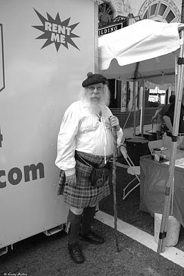 Photograph - Scottish Gentleman  by Gray  Artus