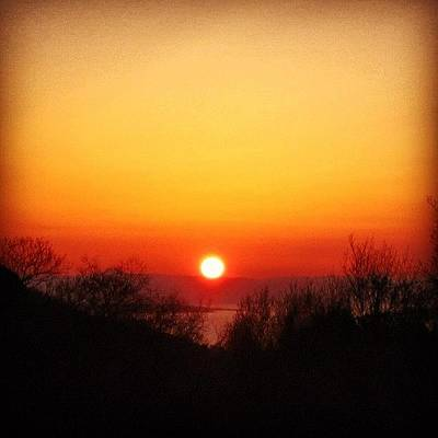 Sunset Wall Art - Photograph - Scottish Sunset by Luisa Azzolini