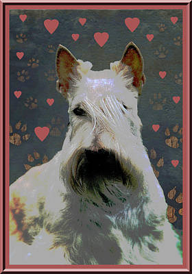 Scottish Dog Digital Art - Scottish Terrier by One Rude Dawg Orcutt