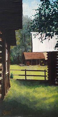 Scout Field Art Print by Bill Brown