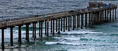 Pacific Ocean Photograph - Scripps Pier La Jolla by Russ Harris