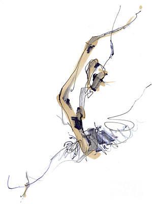 Sculpting Ballet Art Print
