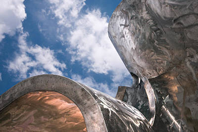 Photograph - Sculpture And Sky by Tom Gort