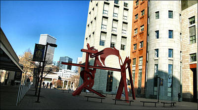 Photograph - Sculpture - Denver Art Museum 2010 by Glenn Bautista