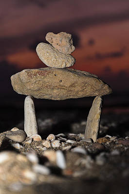 Photograph - Sculpture From Stones by Michael Goyberg