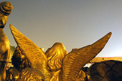 Surrealism Photograph - Sculpture Of An Angel by Sumit Mehndiratta