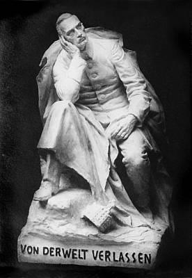 Sculpture Of Kaiser William II, Title Art Print by Everett