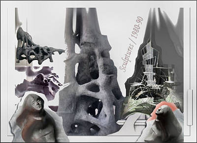 Sculpture - Sculptures 1980-90 by Glenn Bautista