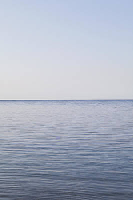 Tranquil Scene Escapism Photograph - Sea And Horizon by James French