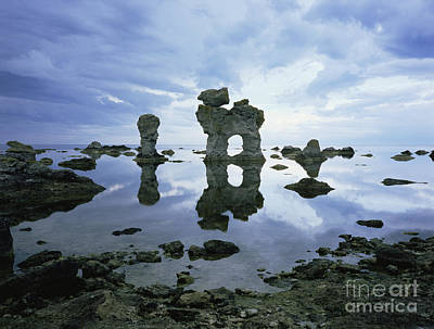 Sea Arch Art Print by Bjorn Svensson and Photo Researchers