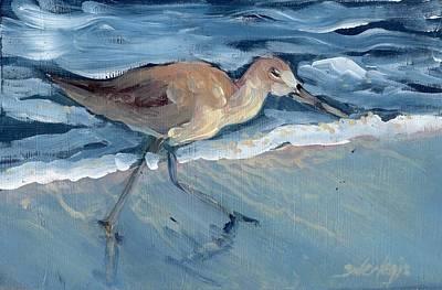 Painting - Sea Bird by Sheila Wedegis