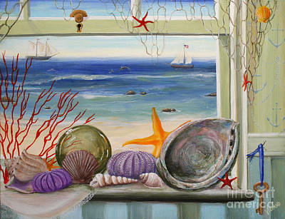 Painting - Sea Cottage  by Stella Violano