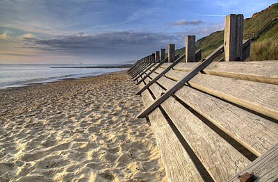 Photograph - Sea Defence by Ian Merton