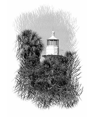 Photograph - Sea Horse Key Light by Gordon Engebretson