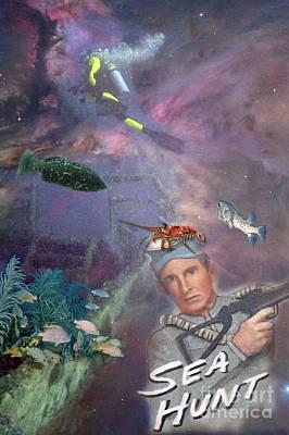 Digital Art - Sea Hunt by Richard Nickson