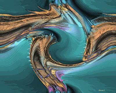 Sea Magic Art Print by Ines Garay-Colomba