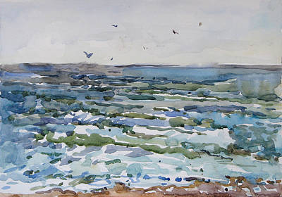 Painting - Sea Of Azov by Juliya Zhukova