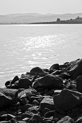 Photograph - Sea Of Galilee In Black And White by Anthony Doudt