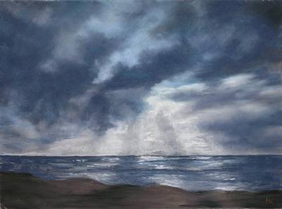 Sea Rays Art Print by Marlene Kingman