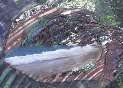 Photograph - Sea Shell Card by John Neville Cohen