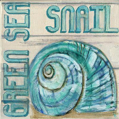 Painting - Sea Snail by Debbie Brown