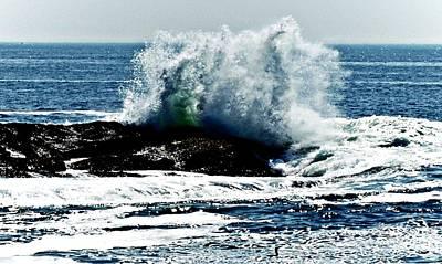 Photograph - Sea Spray by Joe Faherty