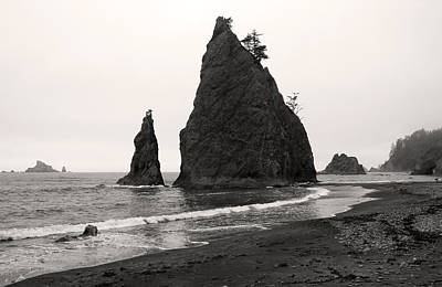 Photograph - Sea Stacks In The Fog by Pierre Leclerc Photography