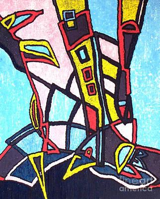 Painting - Seafarer by Veneta Gancheva