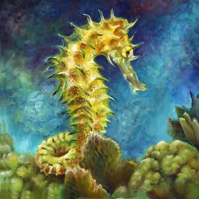 Seahorse I Art Print