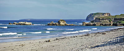 Photograph - Seal Bay Beach by Stephen Mitchell