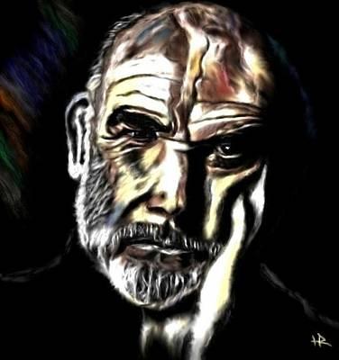 Sean Connery Painting - Sean by Herbert Renard